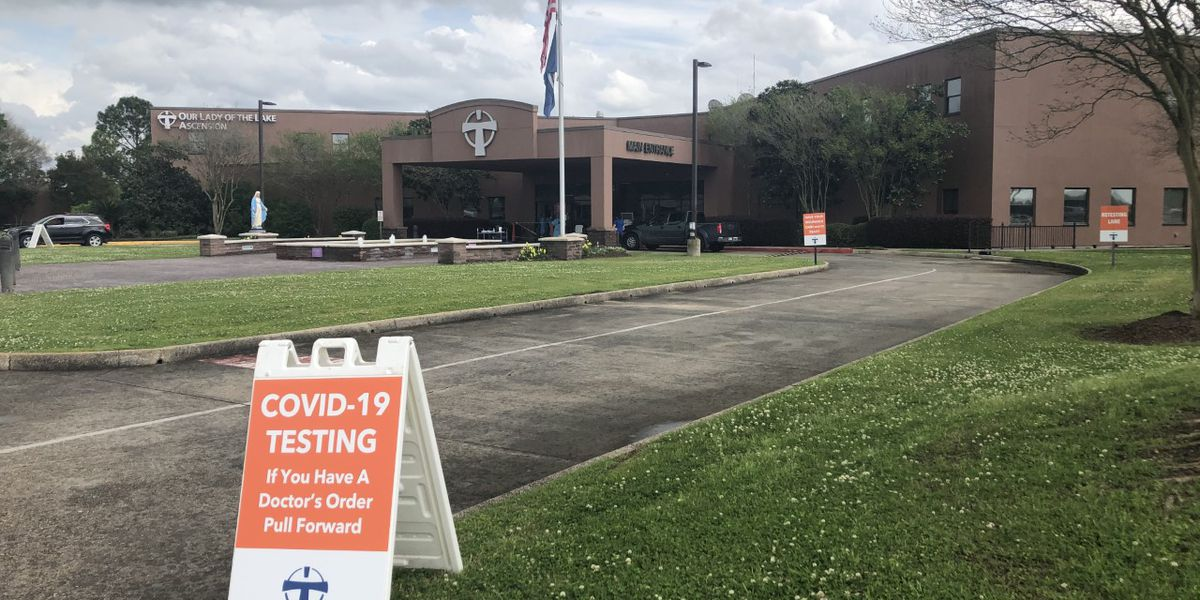Coronavirus testing now available in Ascension Parish, but there's a catch