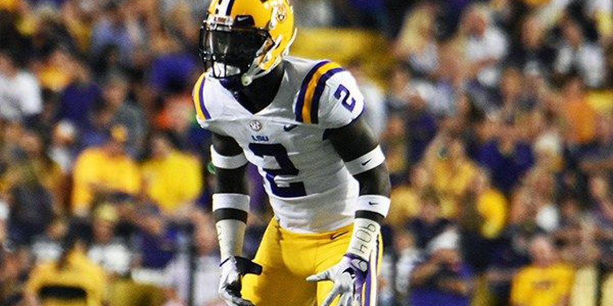 LSU DB Kevin Toliver declaring for the 2018 NFL Draft