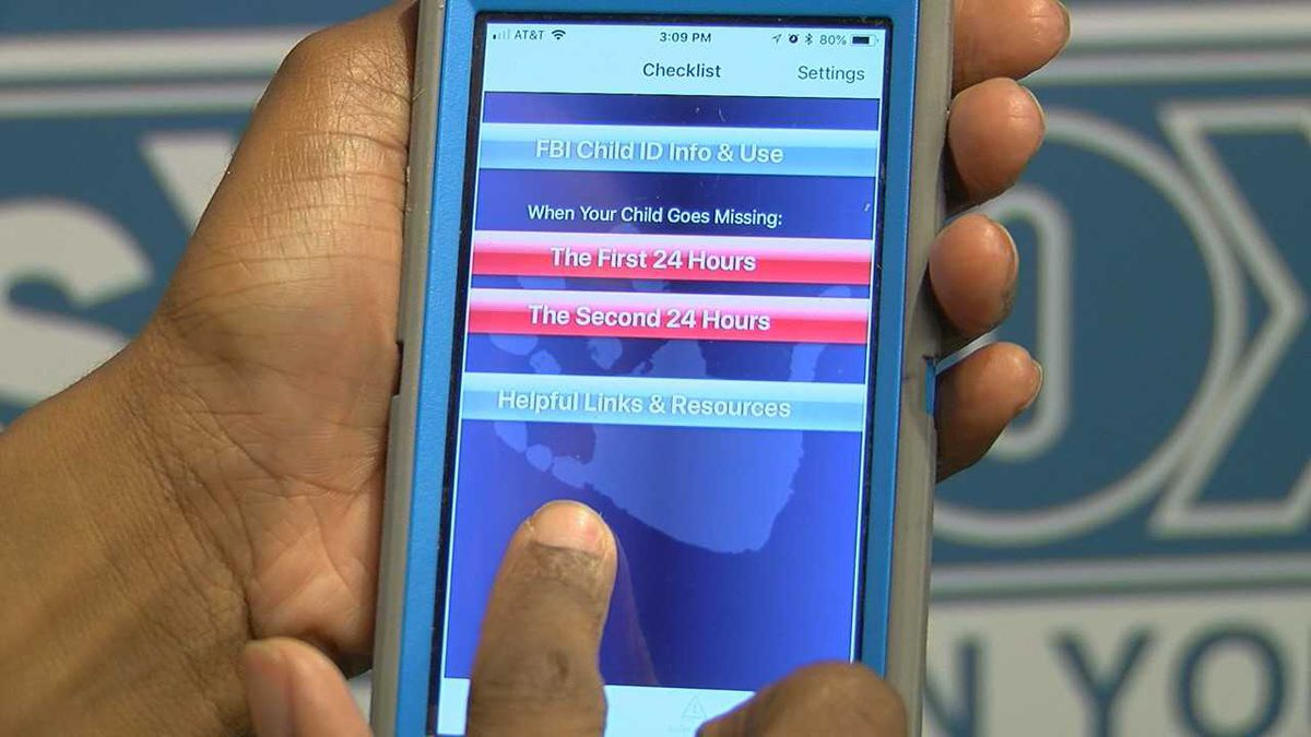 FBI Child ID App to help recover missing children