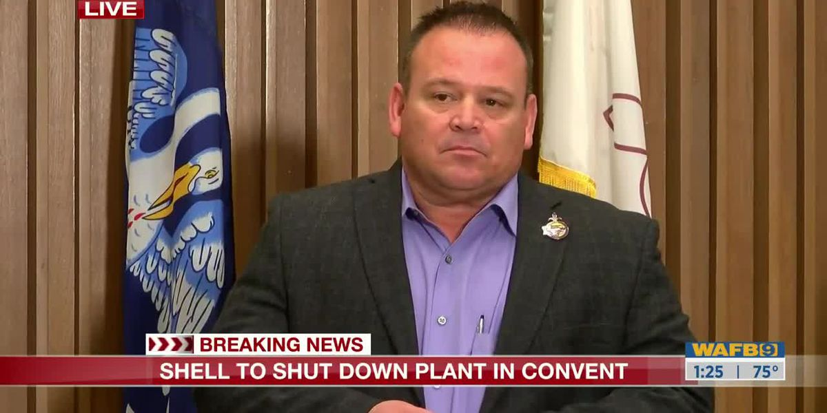 FULL PRESS CONFERENCE: Shell refinery in Convent set to close