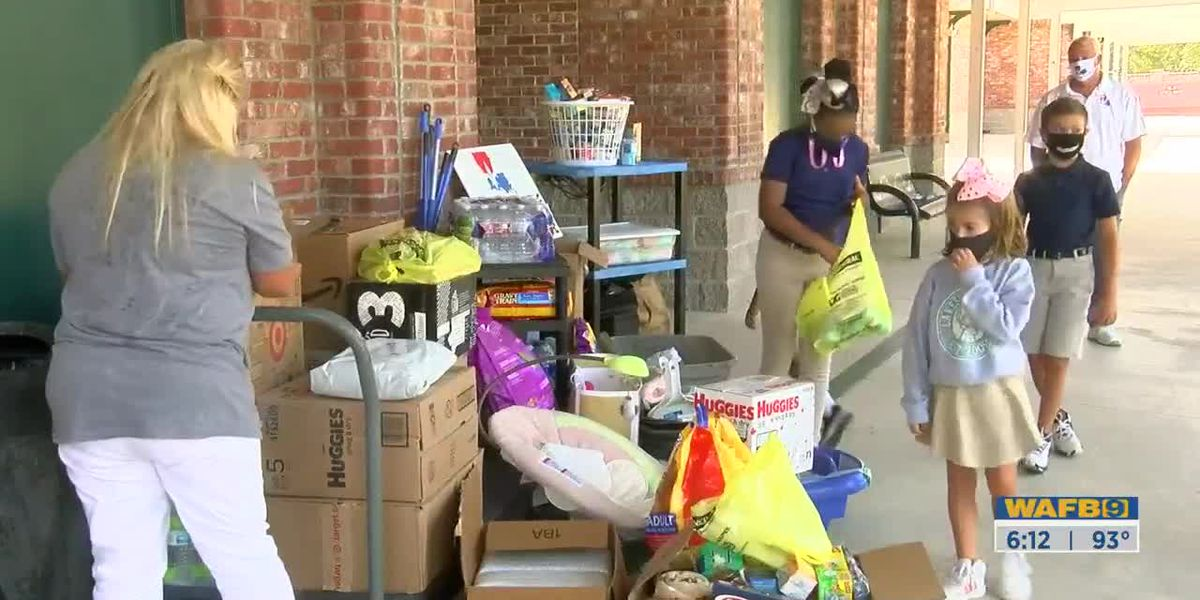 4th graders in Ascension Parish donate items for those in need after Hurricane Laura