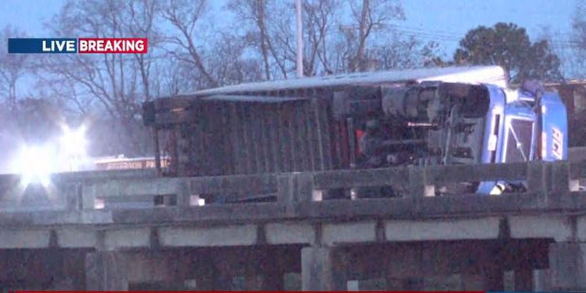 State Police: 18-wheeler fire being investigated as hit-and-run