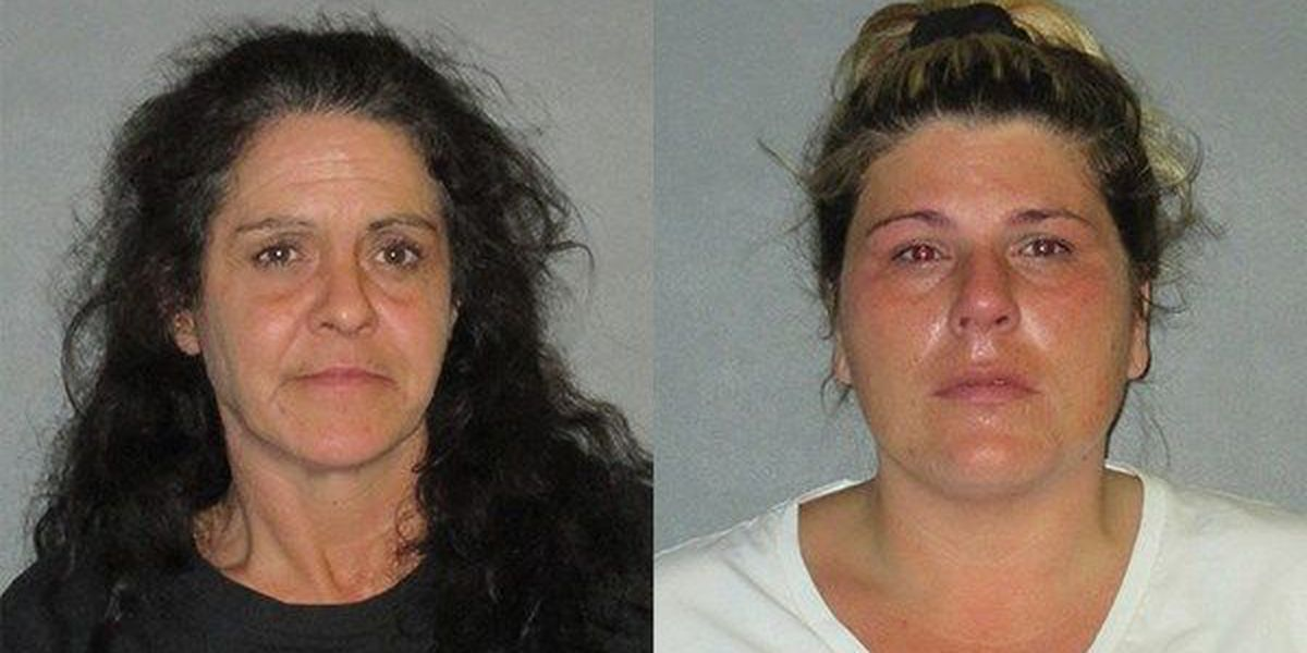 Two women arrested after allegedly attempting to pawn fake diamonds