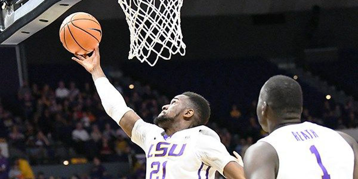 LSU builds large first half lead on way to 75-54 win over Arkansas