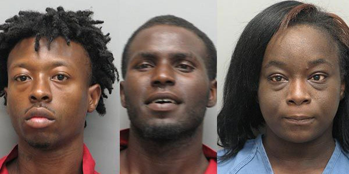 Three arrested on felony theft charges in Thibodaux