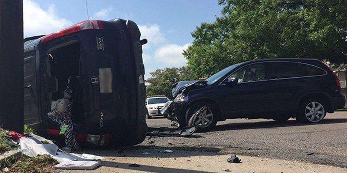 Police investigate 3-vehicle crash on Nicholson
