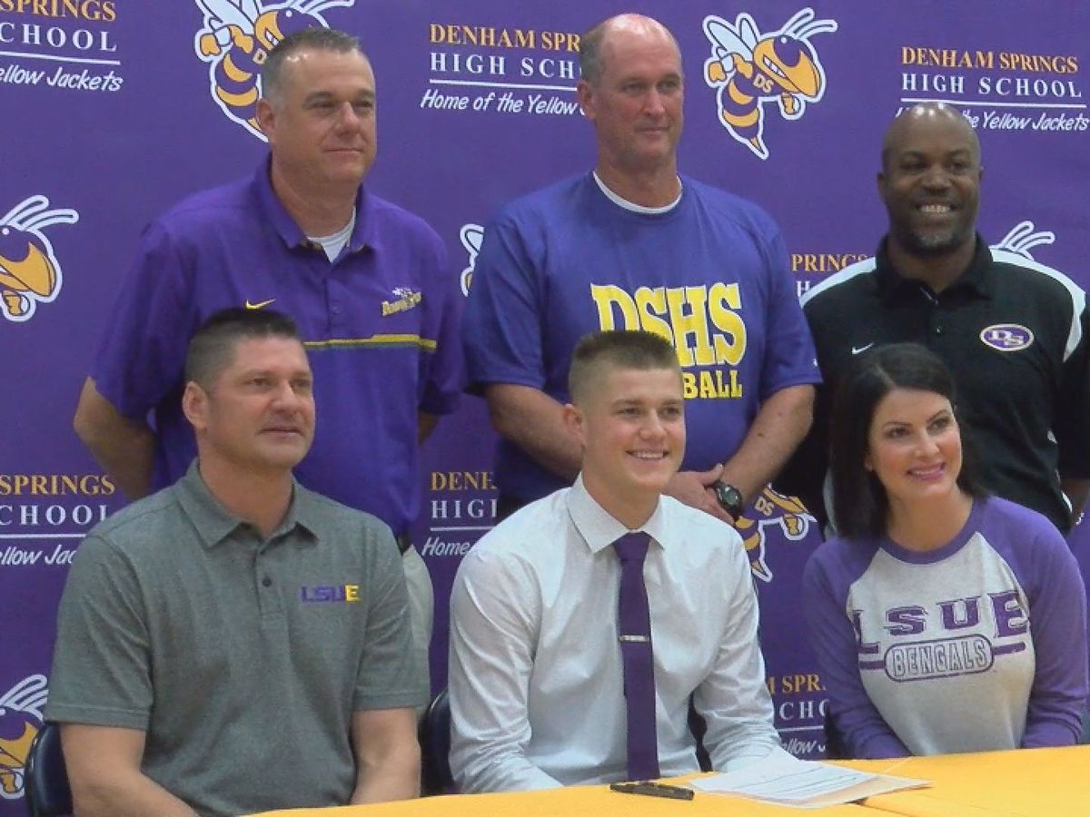 Jase McDonald, son of Ben McDonald, signs with LSUE
