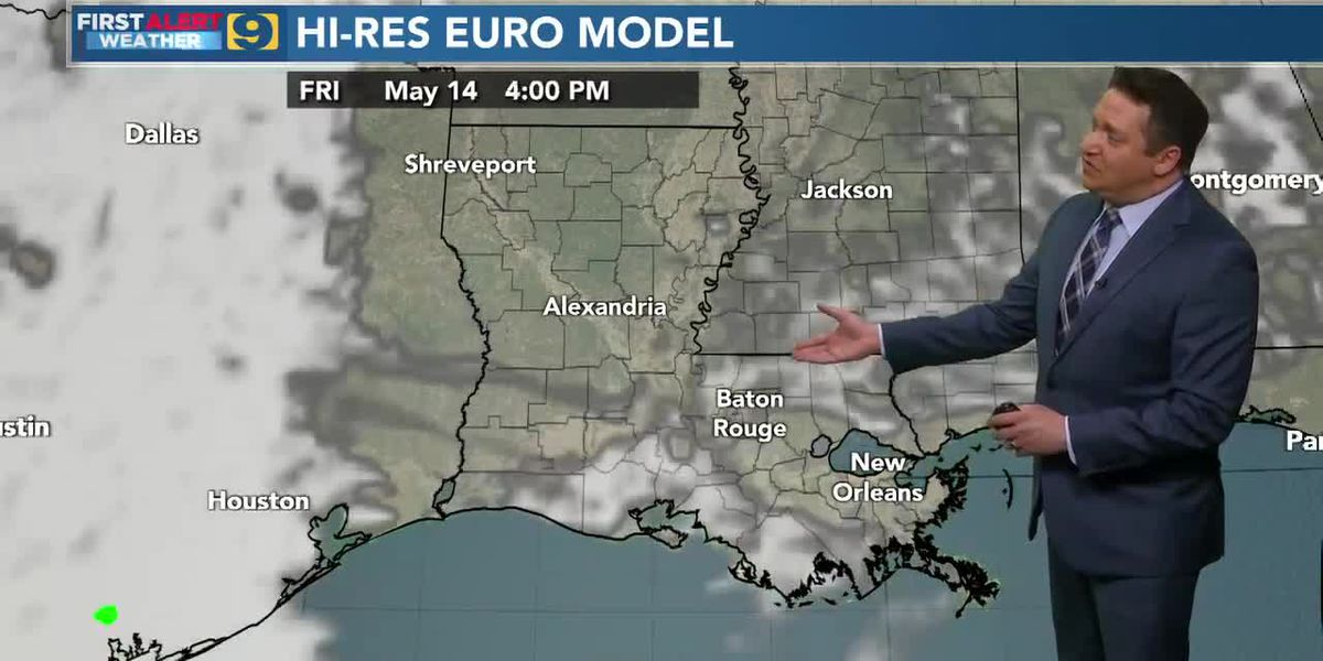 FIRST ALERT 10 P.M. FORECAST: Thursday, May 13