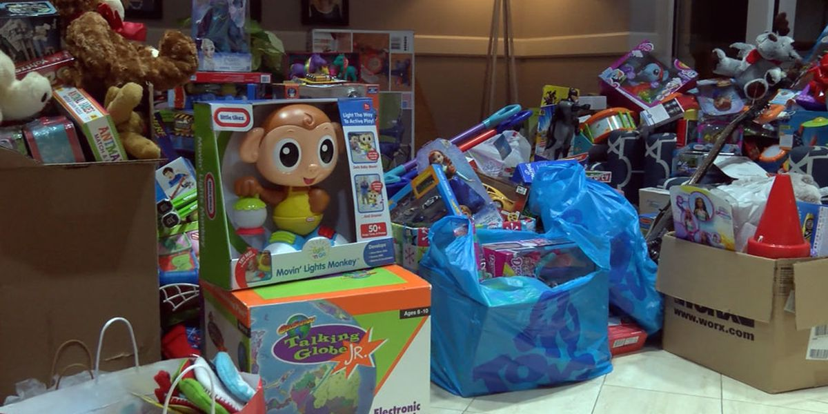 Motorcycle club collects toys to bring joy to thousands of Baton Rouge children