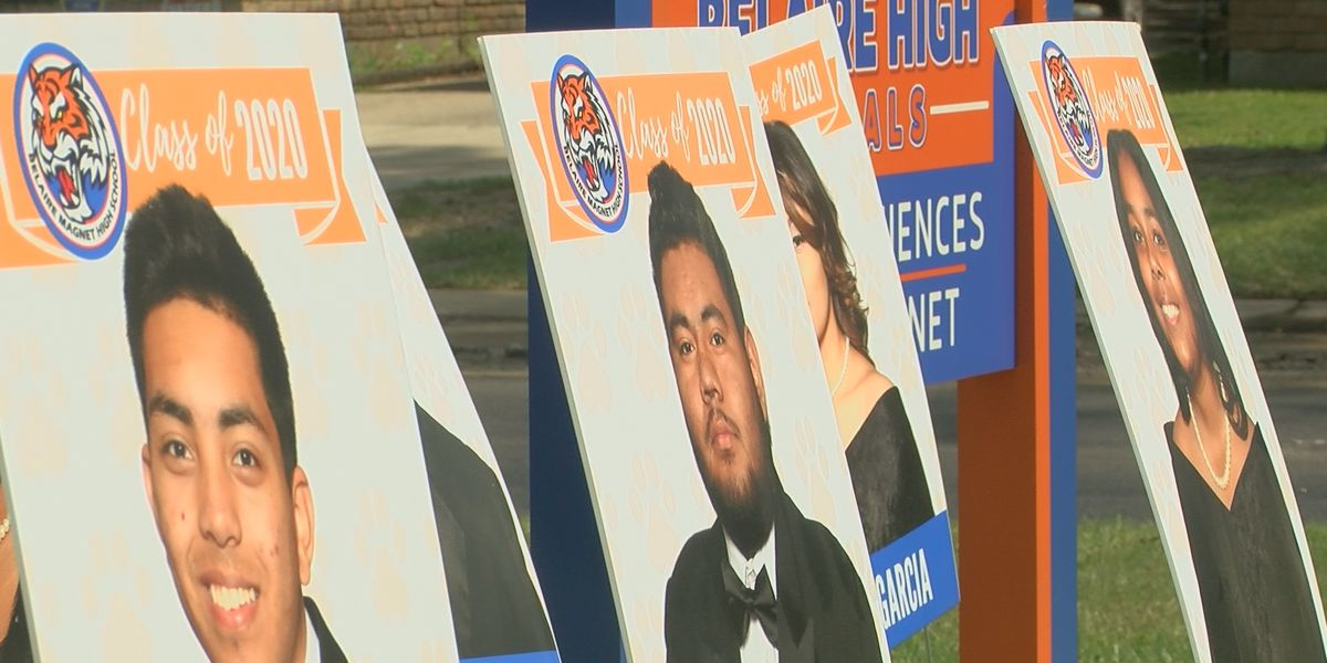 Belaire Magnet High celebrates seniors in remarkable way amid ongoing pandemic