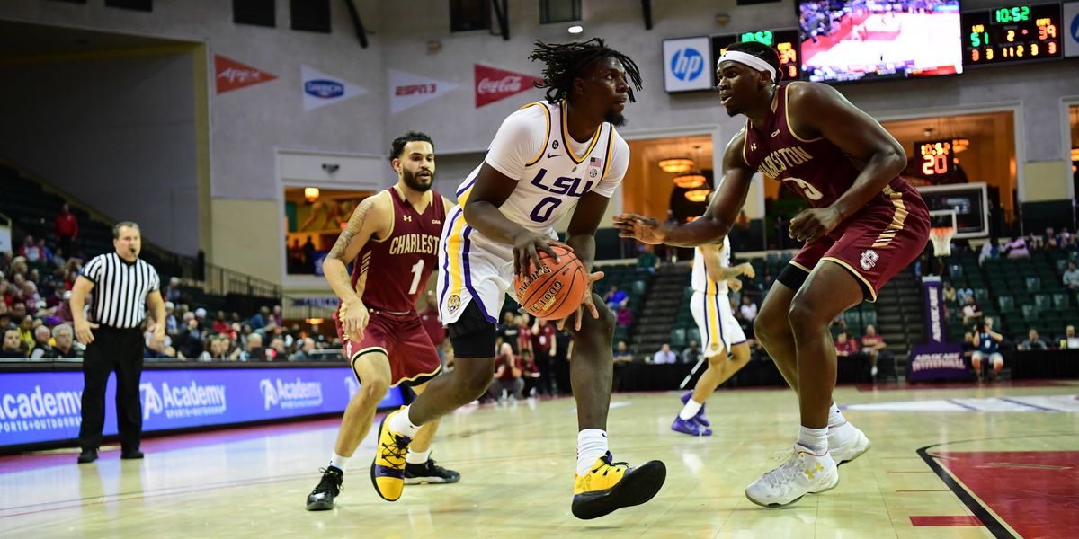 LSU basketball defeats Charleston in AdvoCare Invitational