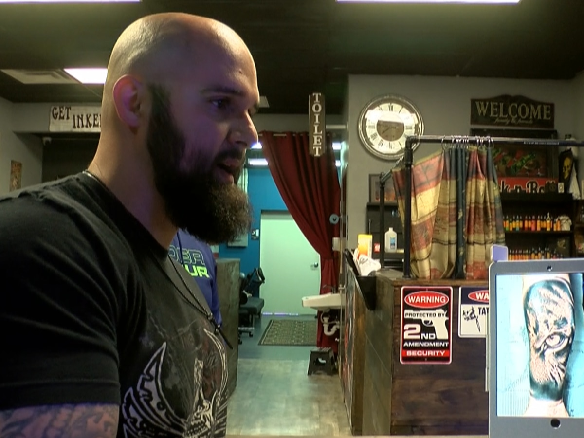 Louisiana tattoo shops struggle to survive, yet cannot re-open