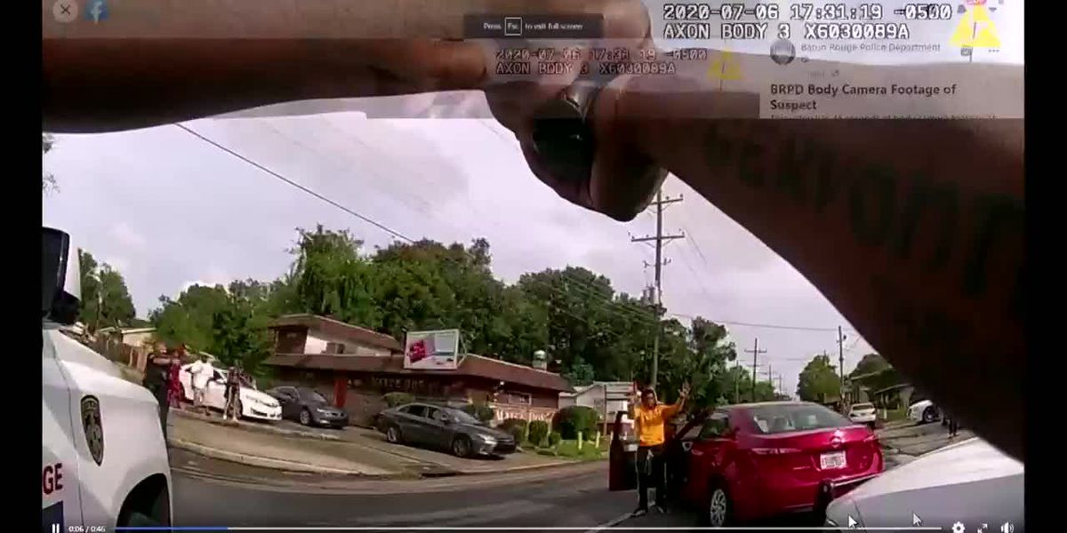 VIDEO 3: Body camera footage of driver's arrest