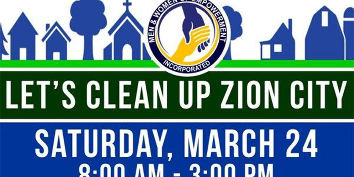 Lt. Gov. joins community for Zion City cleanup event