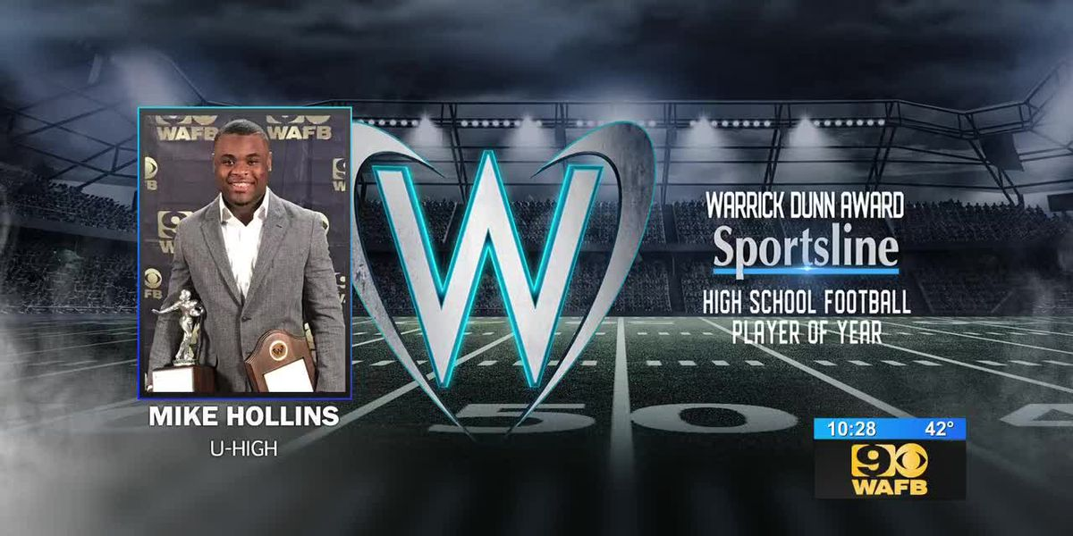 Mike Hollins named Sportsline Player of the Year for 2018 season