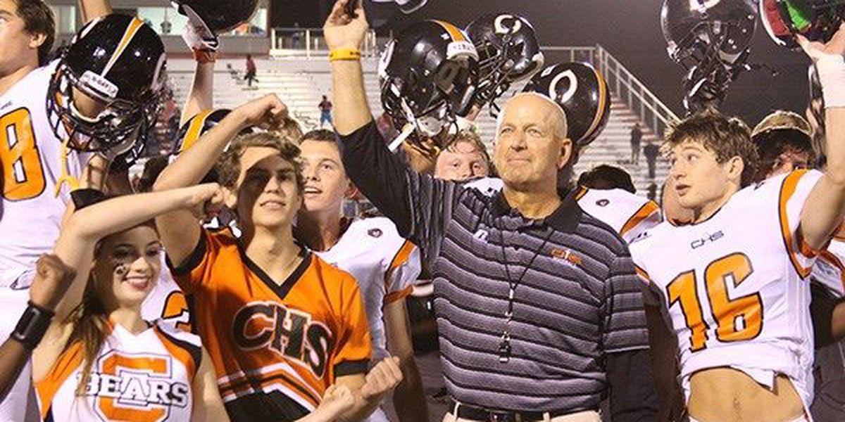 Catholic High School head football coach celebrates 300th win