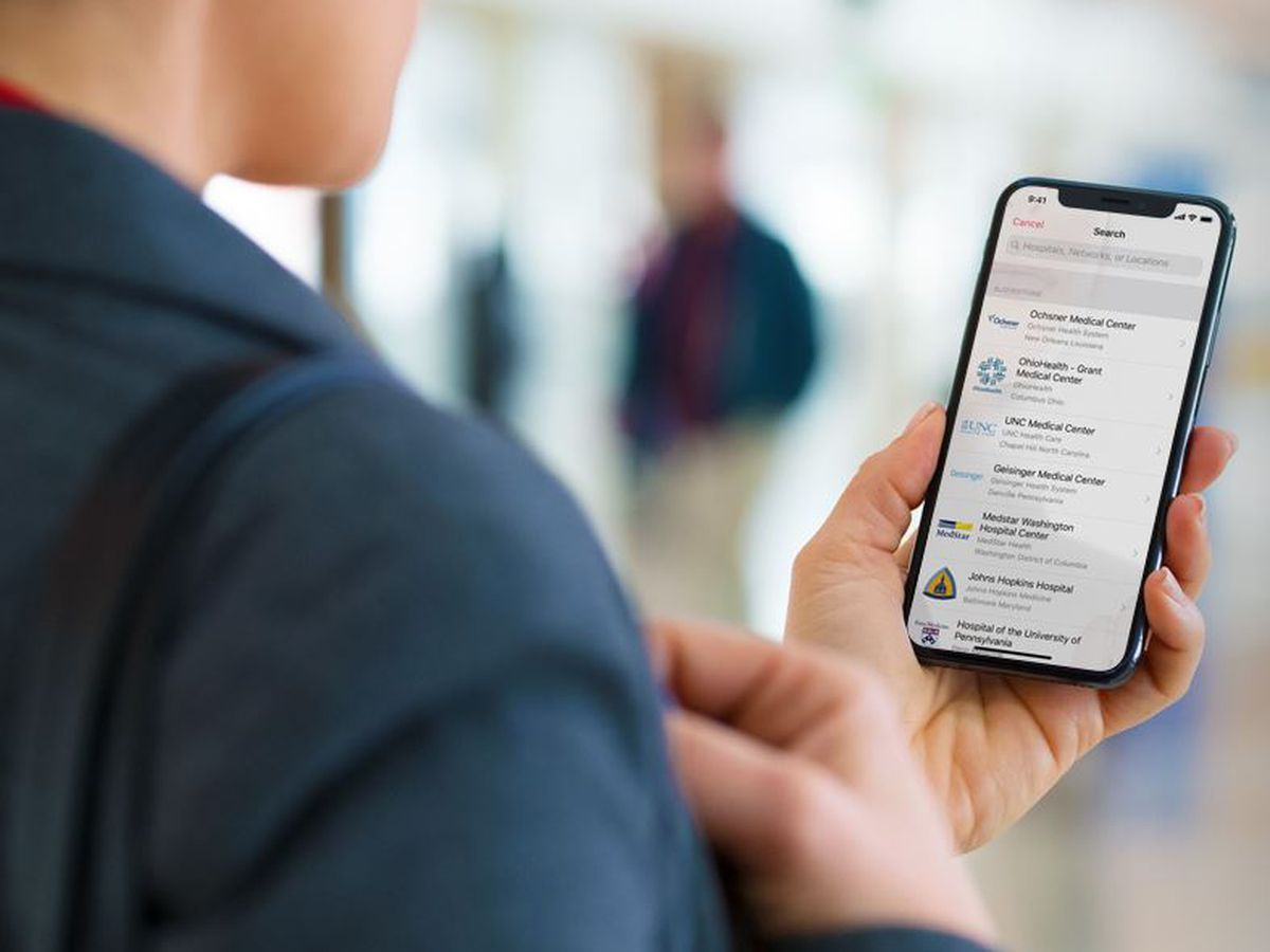 Health Records on iPhone now available to OLOL patients