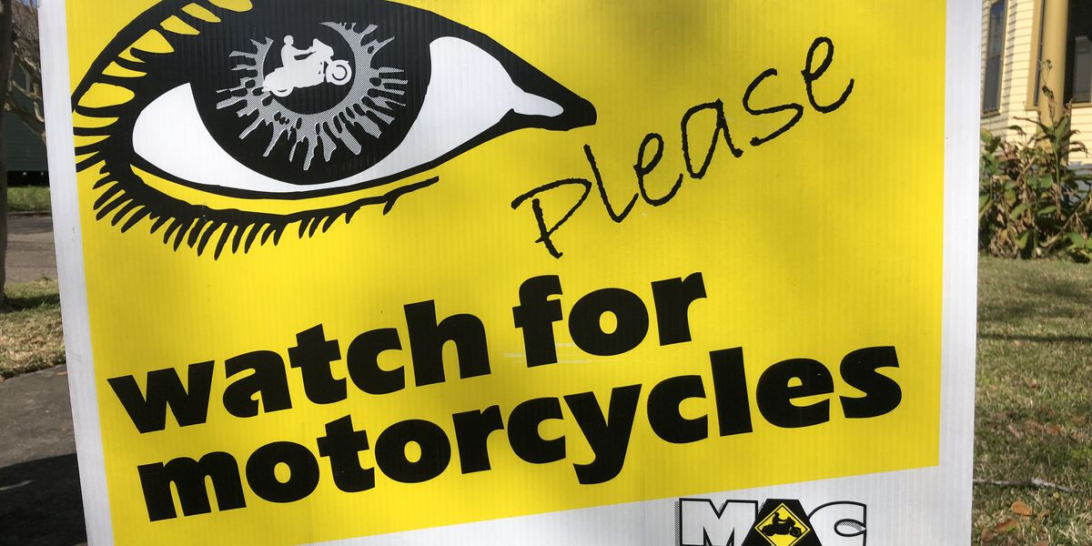 Motorcycle safety advocates encourage drivers to take an active look at the road