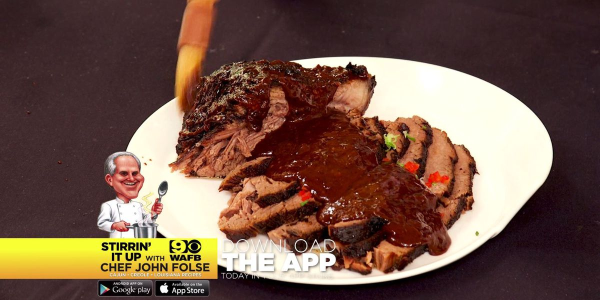Oven-Cooked Barbecued Beef Brisket
