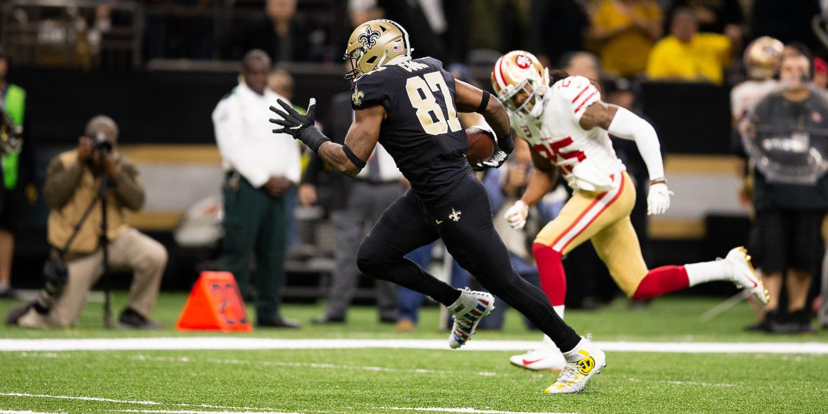 Saints tight ends have talent, depth and versatility