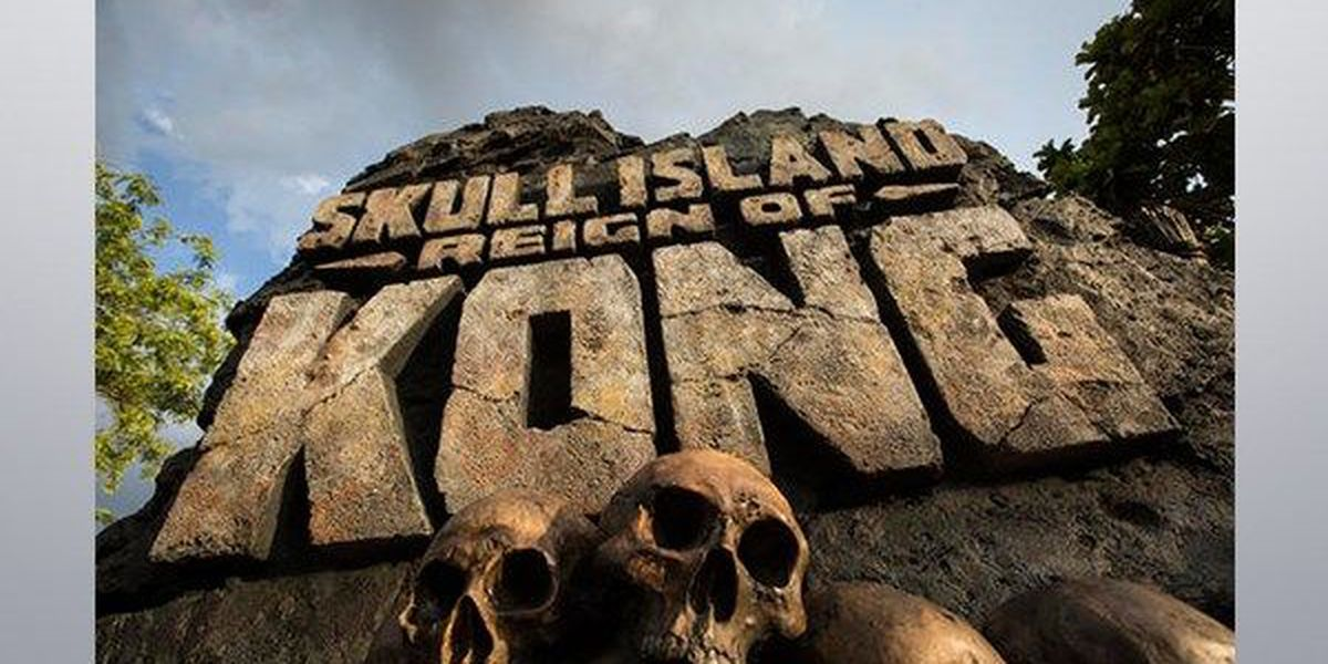 Universal unveils new attraction 'Skull Island: Reign of Kong'