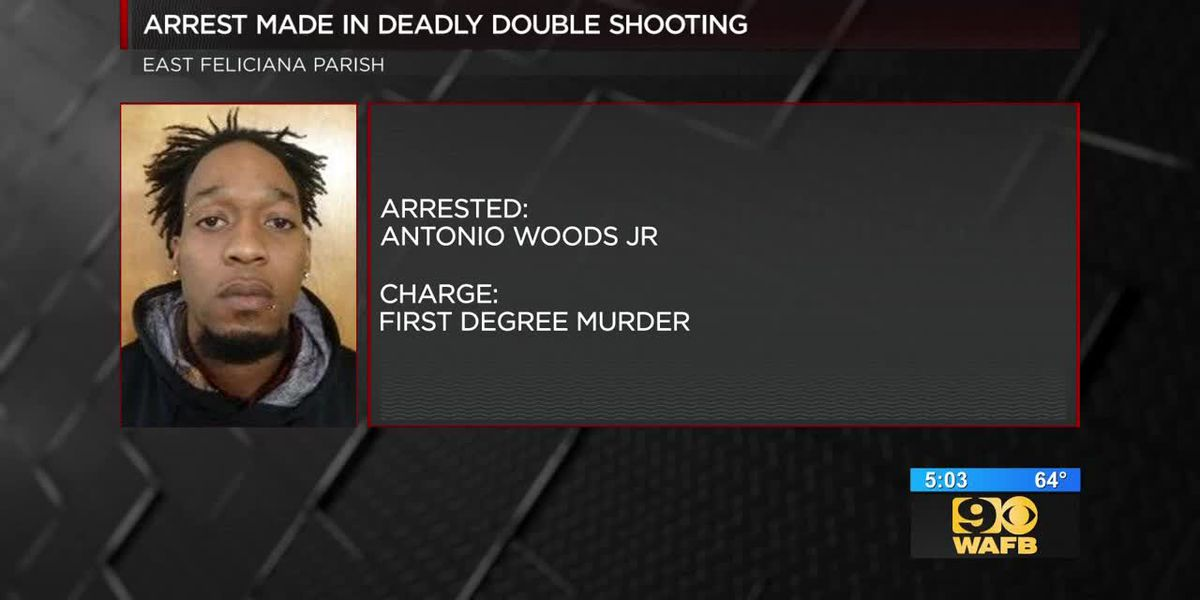 Arrest made in double shooting in Ethel