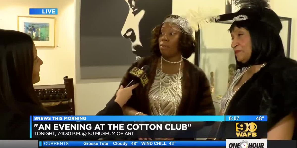 "SU Museum of Art to host ""An Evening at the Cotton Club"" - 6 a.m."