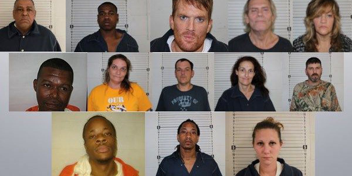 13 arrested in Washington Parish drug arrest roundup