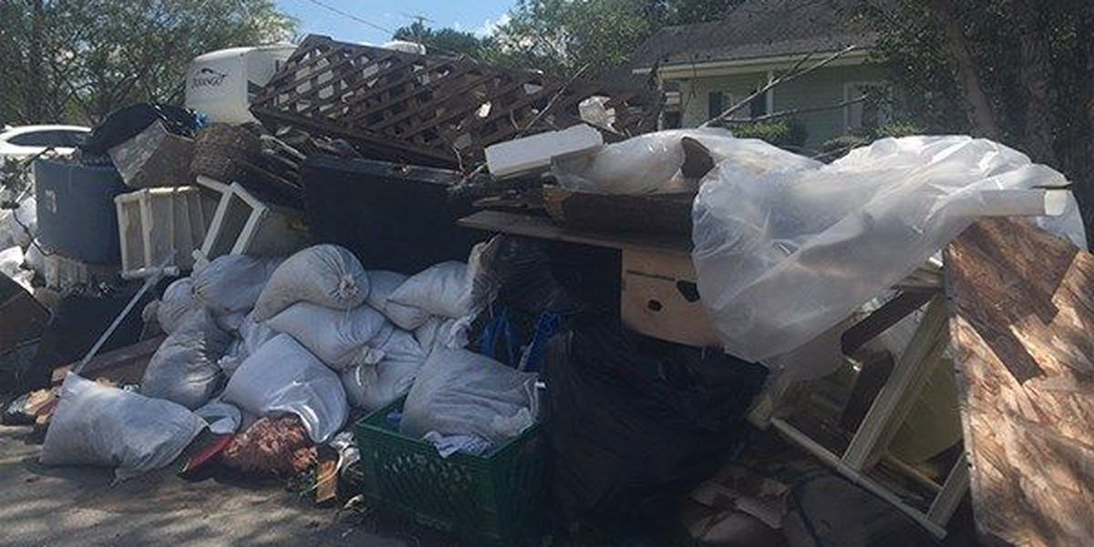 EBR Parish announces weekend hours for debris removal intake centers