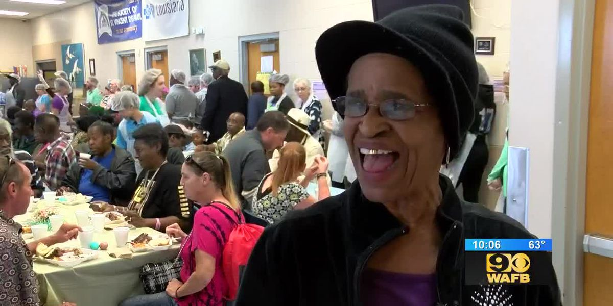 St. Vincent de Paul opens doors for Easter dinner, serving nearly 800 people