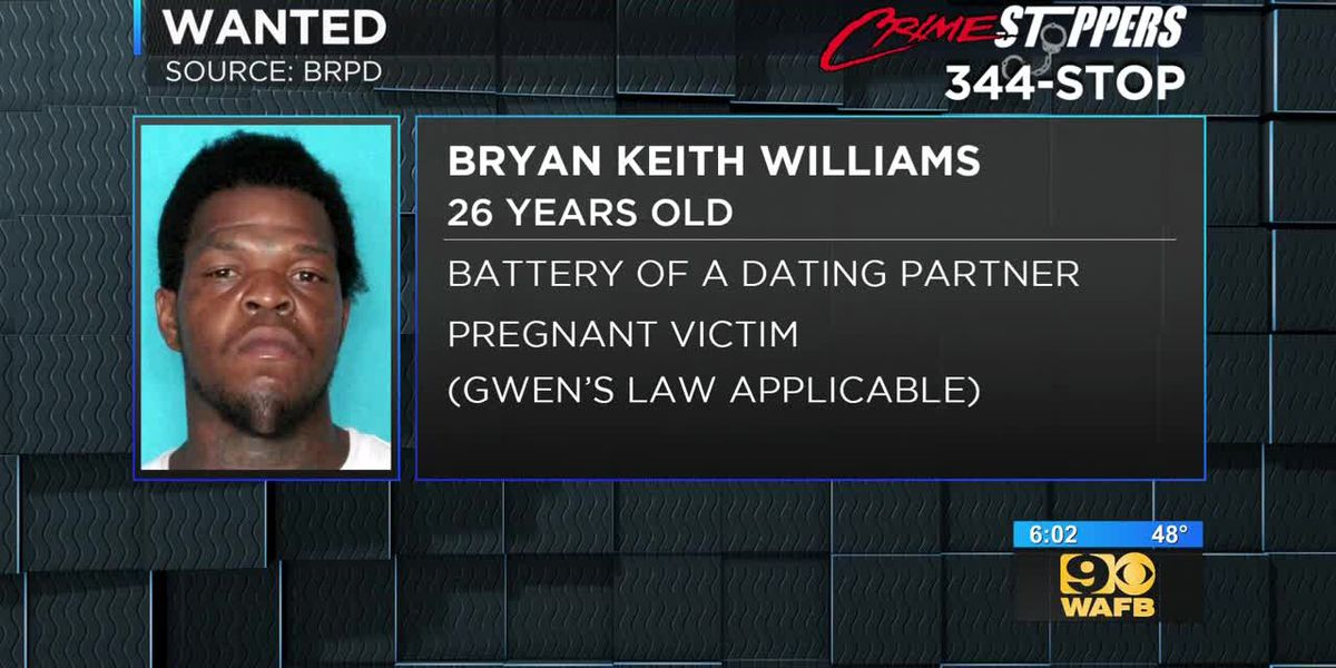 Crime Stopper WANTED: Bryan Keith Williams