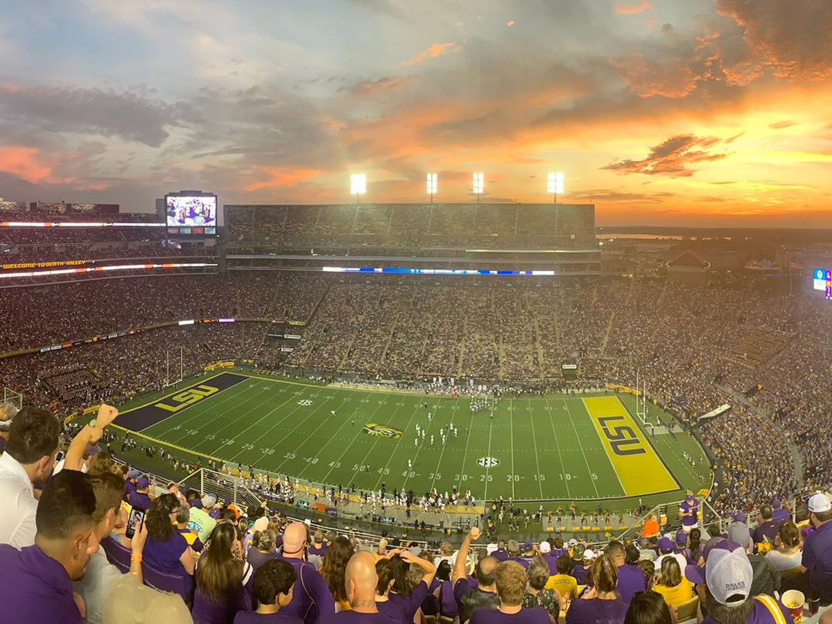 LSU Athletics tied for No. 1 in Capital One Cup standings