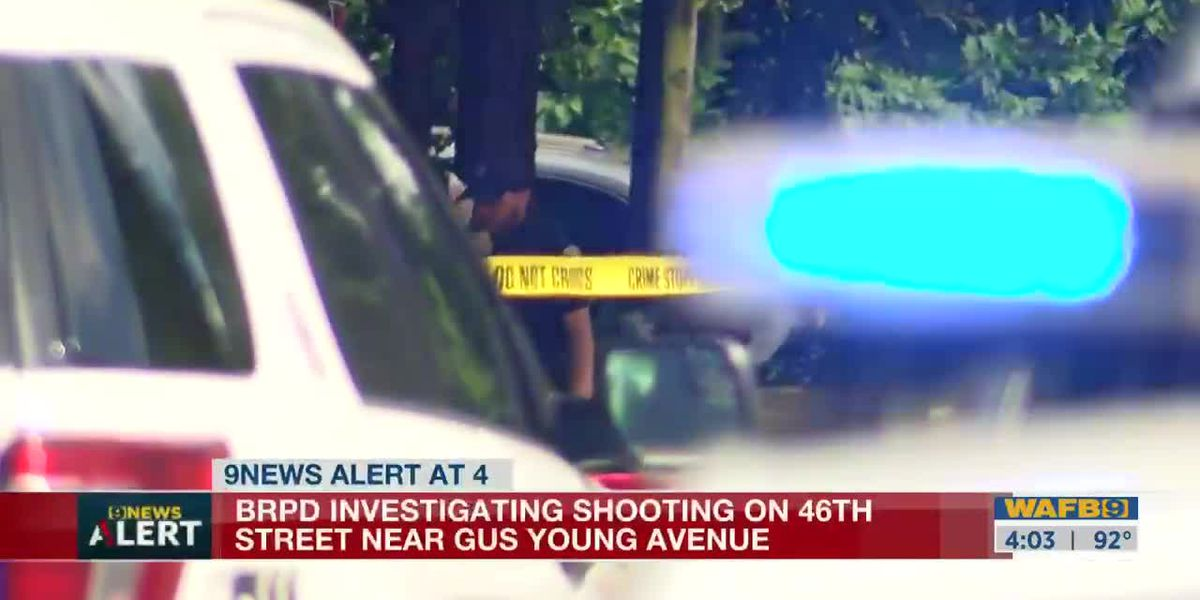 BRPD investigating shooting on 46th Street near Gus Young Avenue