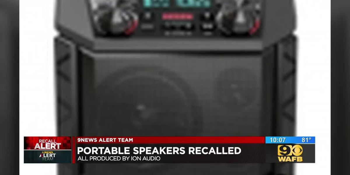 Speakers recalled due to explosion hazard