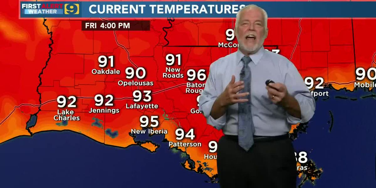 FIRST ALERT FORECAST: Friday, August 7