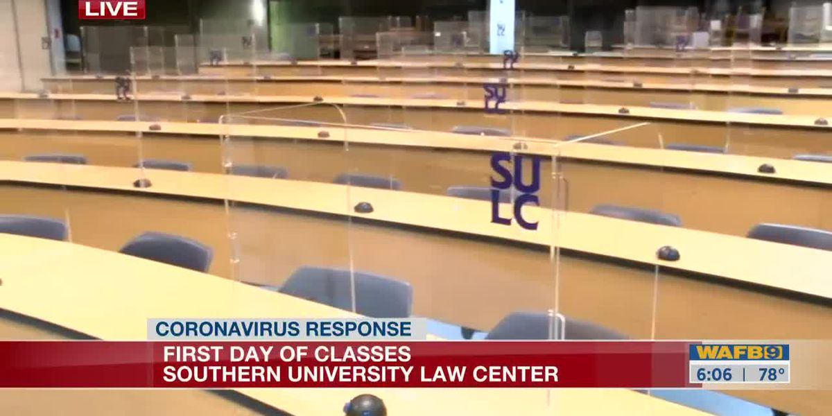 Southern University Law Center reopens-6am