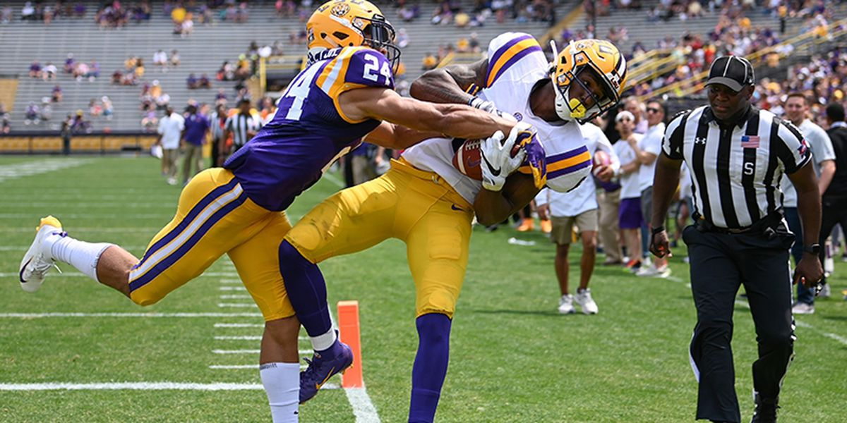 LSU football ranked in Preseason Amway Coaches Poll
