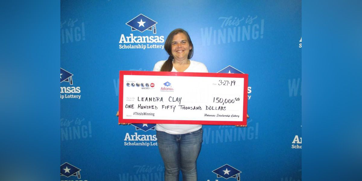 Arkansas woman whose house burned down wins $150K in Powerball drawing