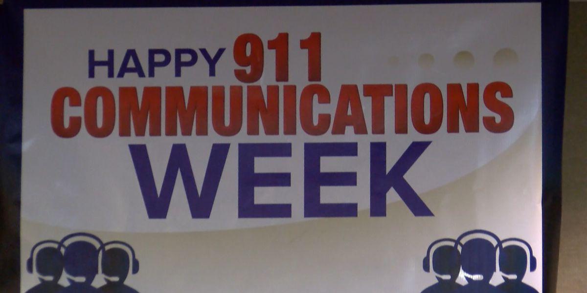 Baton Rouge EMS kicks off 'National 911 Dispatchers Week'