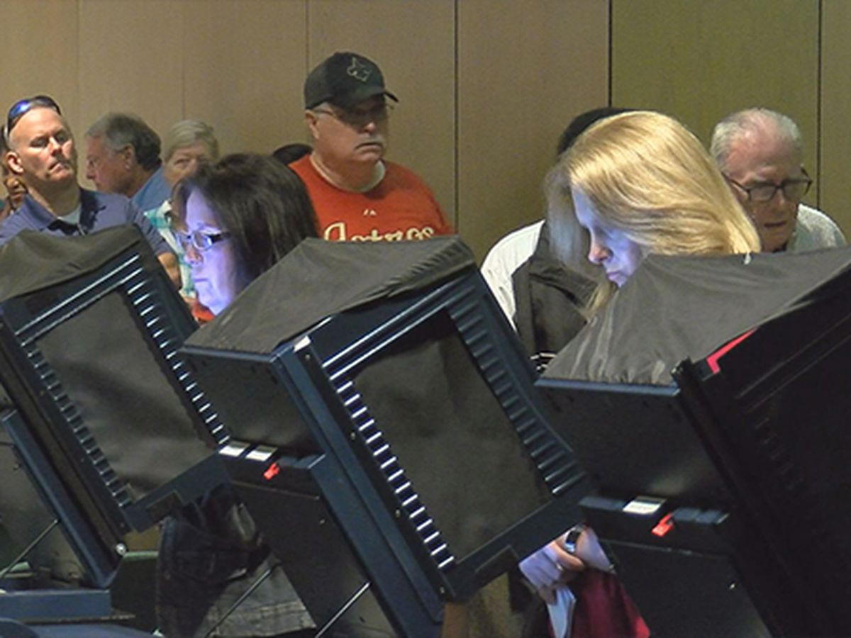 Early voting begins for Nov. 6 election