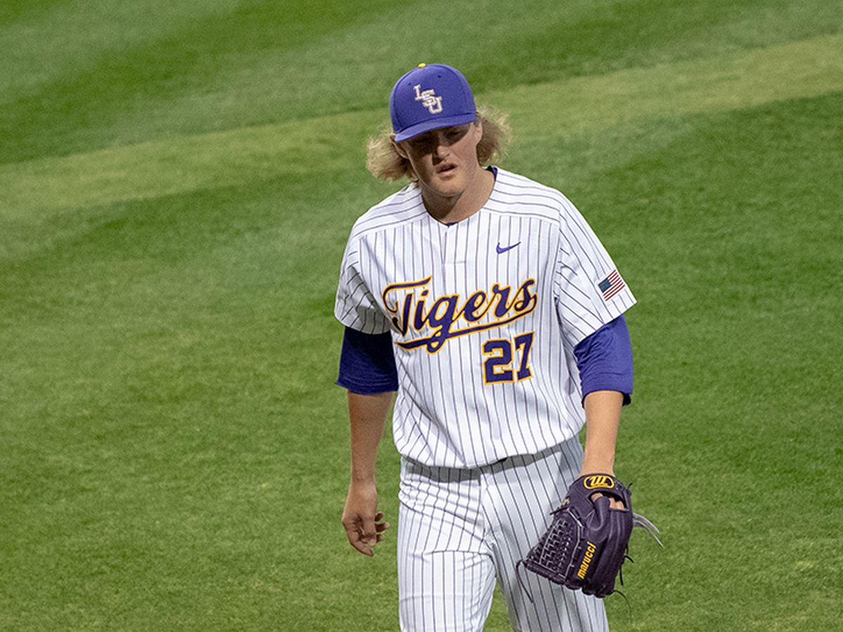 LSU pitcher Matthew Beck named to SEC Community Service Team
