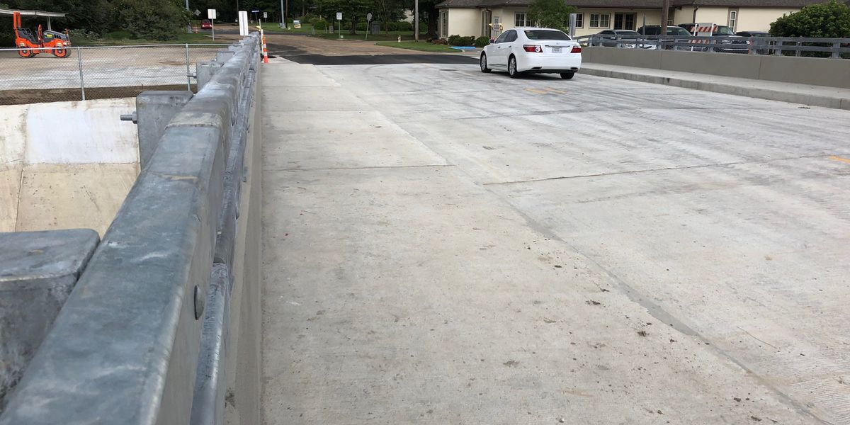 Claycut bridge reopens one year later