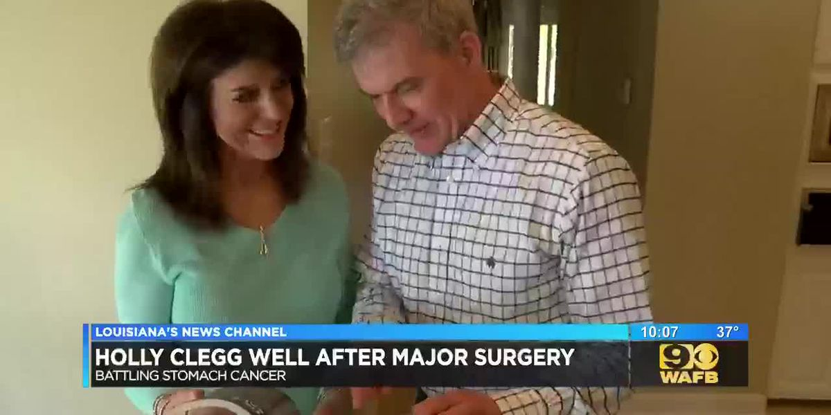 Baton Rouge cookbook author recovering from major surgery after stomach cancer diagnosis
