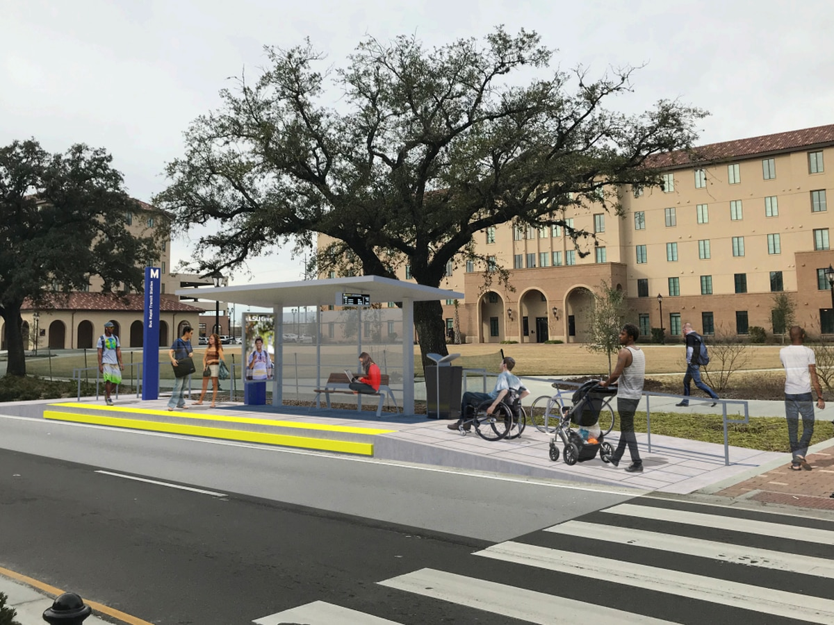 Louisiana's first bus rapid transit project will connect Nicholson Drive to Plank Road