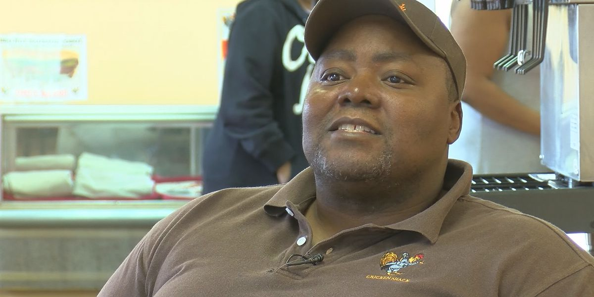 SHOWCASING LOUISIANA: Manager of Chicken Shack offers inspirational messages over the phone