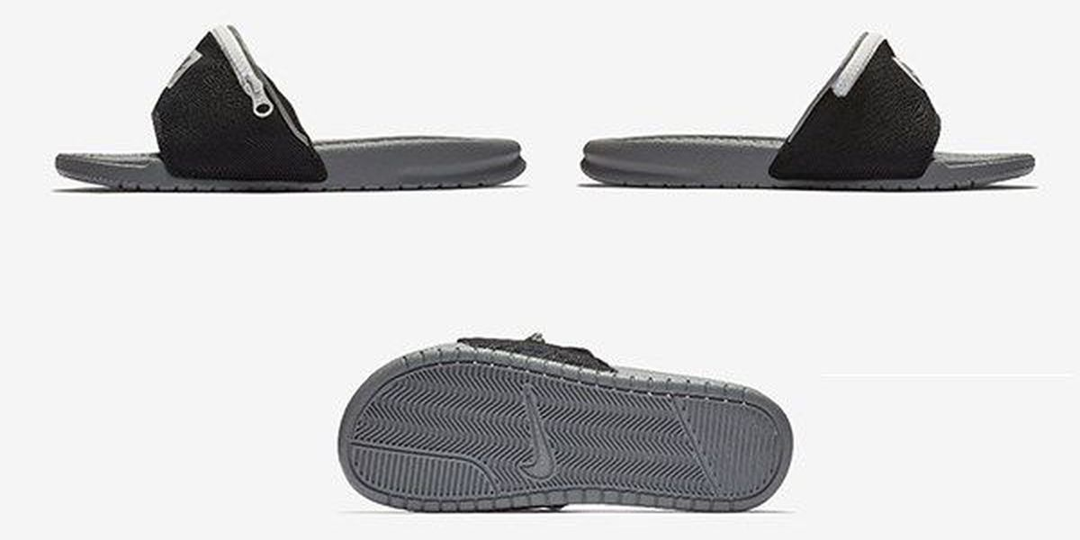 23a418436 Nike adds fanny pack to popular slide