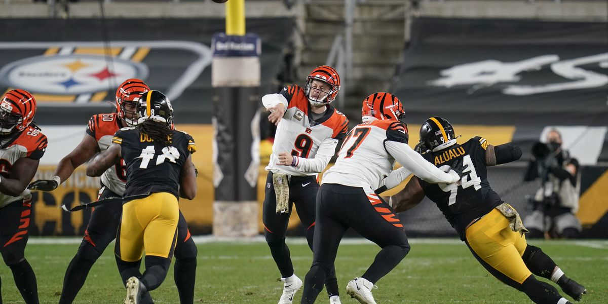 Bengals fall in blow out to Steelers
