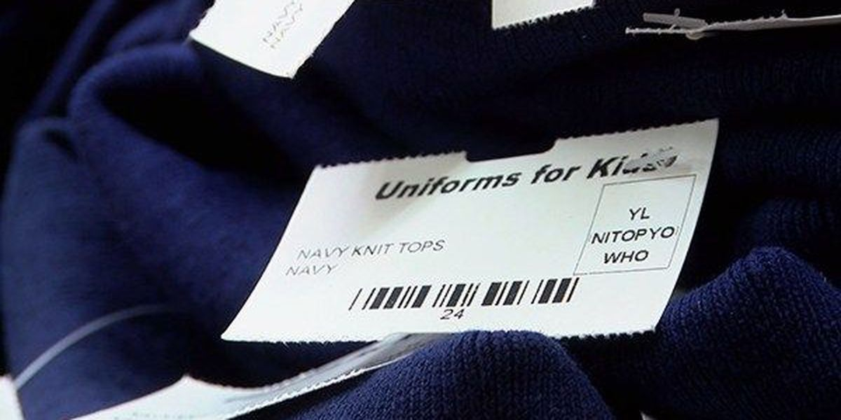 HAND IT ON: Uniforms for Kids