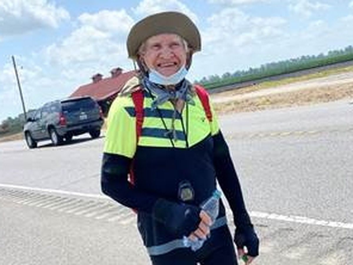 92-year old bikes 92-miles for birthday