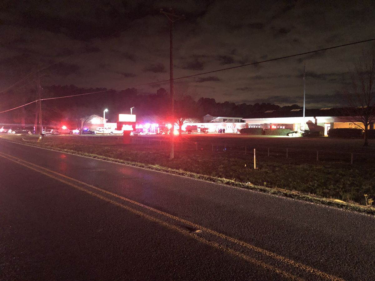 Crews respond to fire at Lake Elementary in St. Amant; school canceled Tuesday